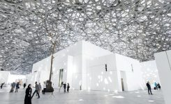A Reflection Through Jean Nouvel's Louvre, Abu Dhabi